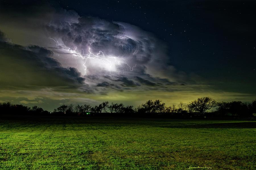 Backyard Lightning by Jonathan Davison