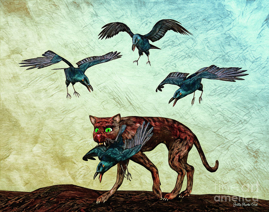 Bad Cat by Jutta Maria Pusl