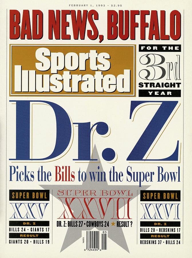 Bad News, Buffalo For The 3rd Straight Year Dr. Z Picks Sports Illustrated Cover Photograph by Sports Illustrated