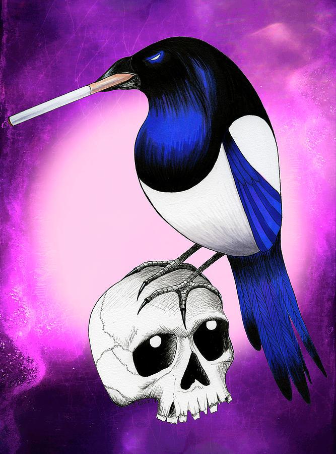 Badass Magpie by Shawna Rowe