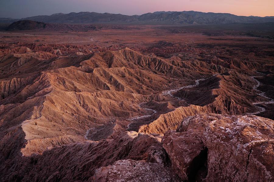 Badland Landscape Photograph by Piriya Photography