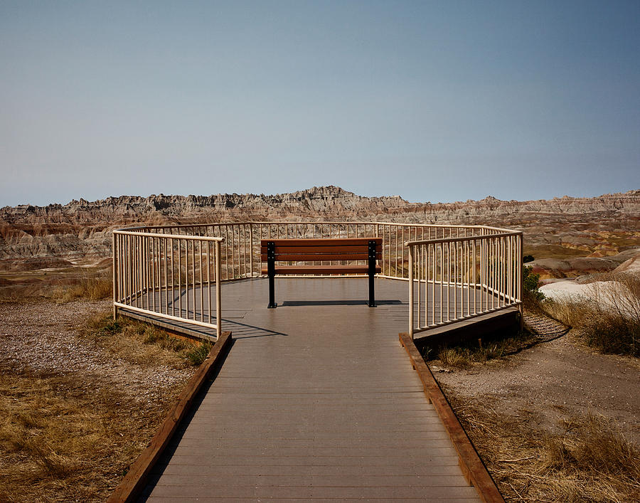 Badlands Photograph by Joshua Sterns