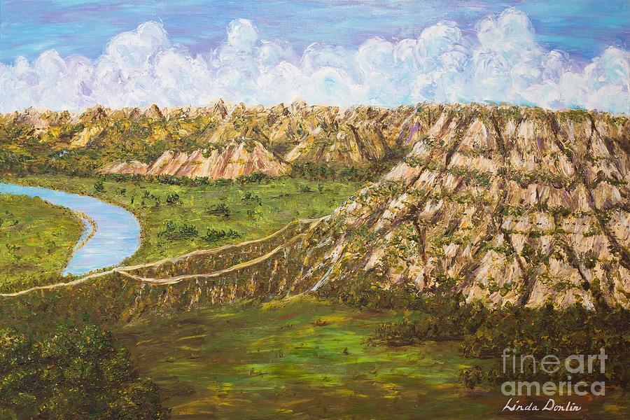 Badlands Majesty by Linda Donlin