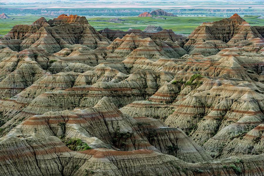 Badlands National Park by George Buxbaum