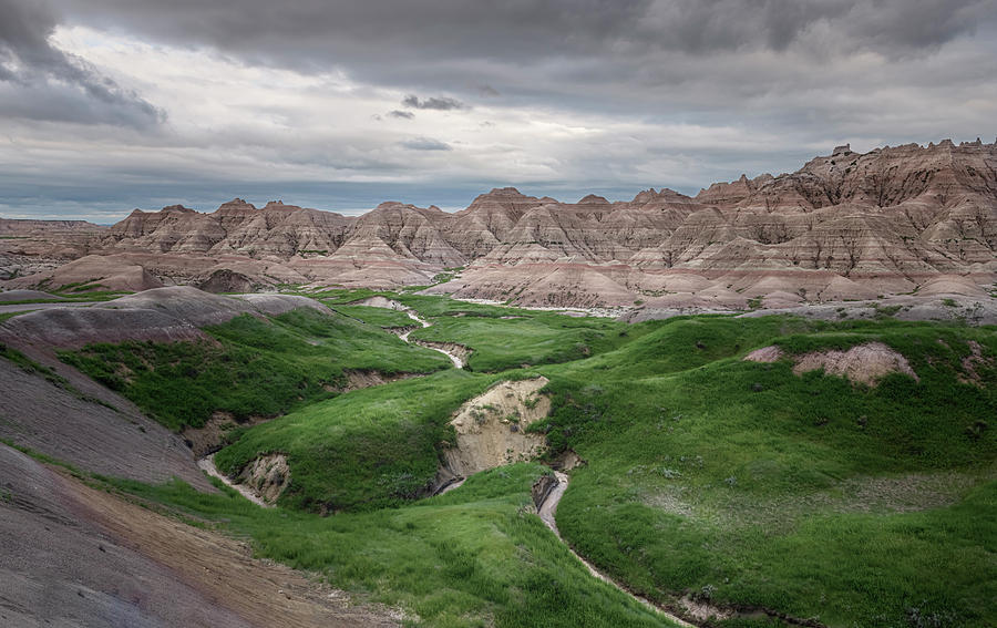 Badlands National Park Landscape II by Joan Carroll