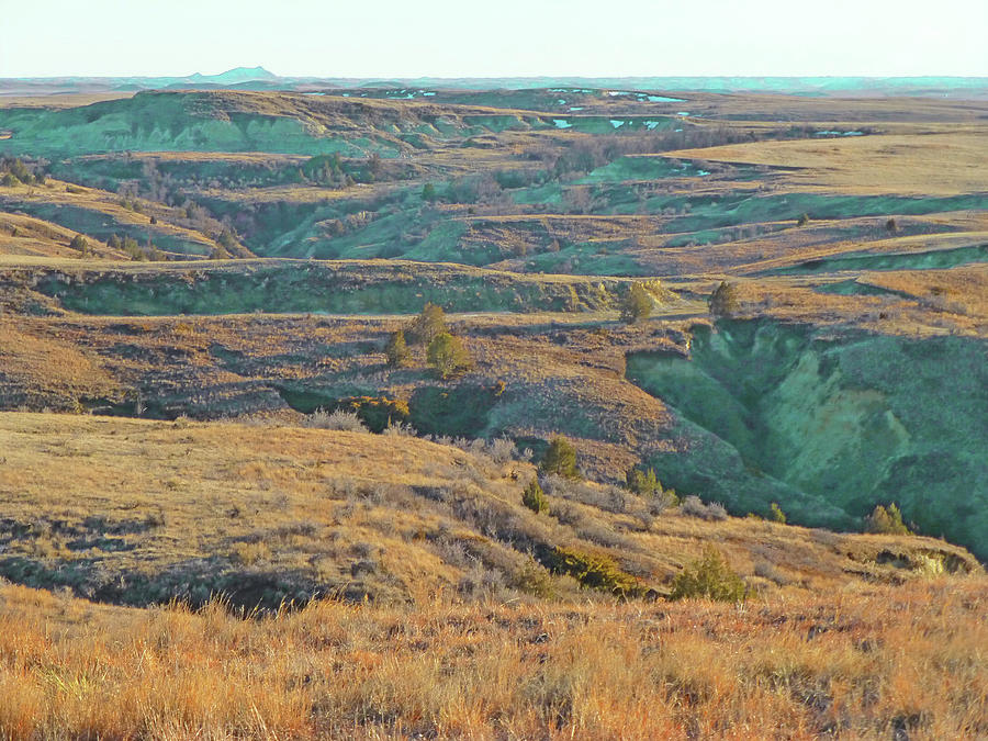 North Dakota Photograph - Badlands Realm Reverie by Cris Fulton