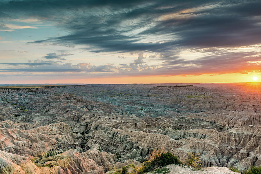 Badlands Revealed by George Buxbaum