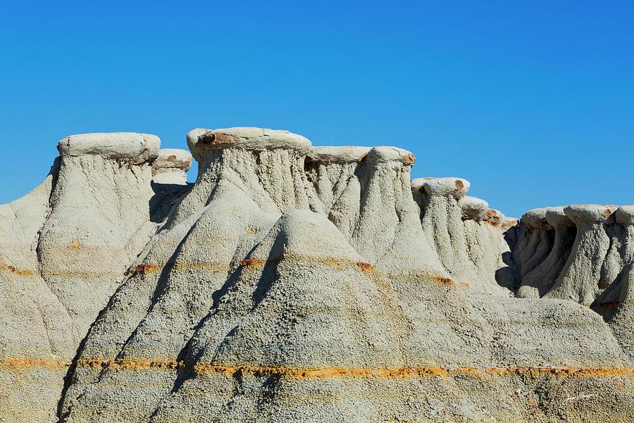 Badlands Rock Formations by Jurgen Lorenzen