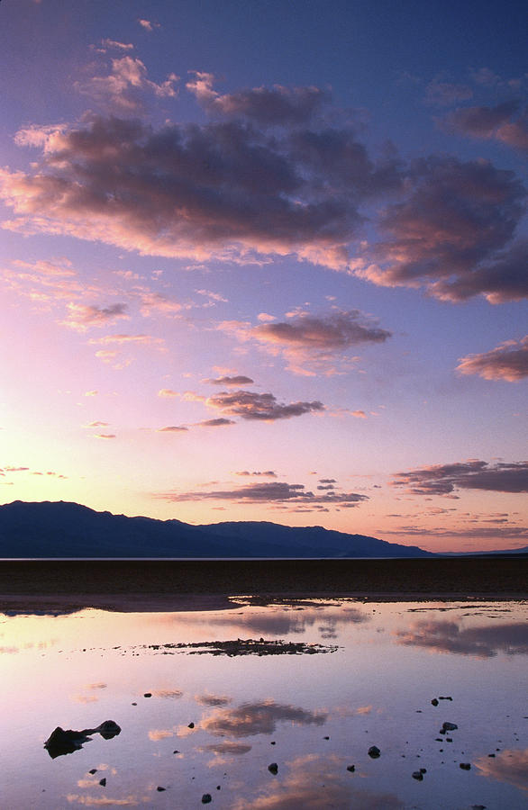 Badwater, 280 Ft Elevation, Sunset Photograph by John Elk Iii
