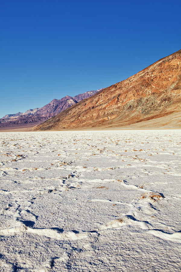 Badwater Basin Salt Flats, Death Valley Photograph by Bryan Mullennix