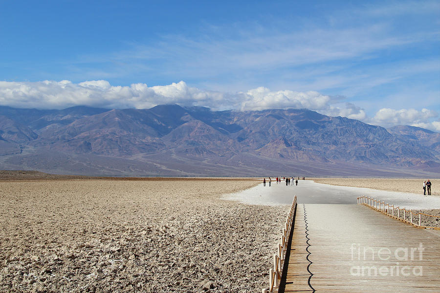 Southwest Photograph - Badwater In Death Valley National Park by Marimarkina