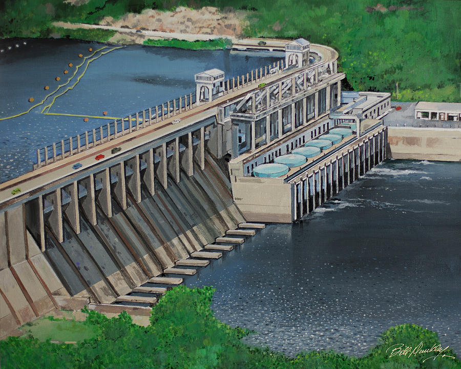 Bagnell Dam by Bill Dunkley