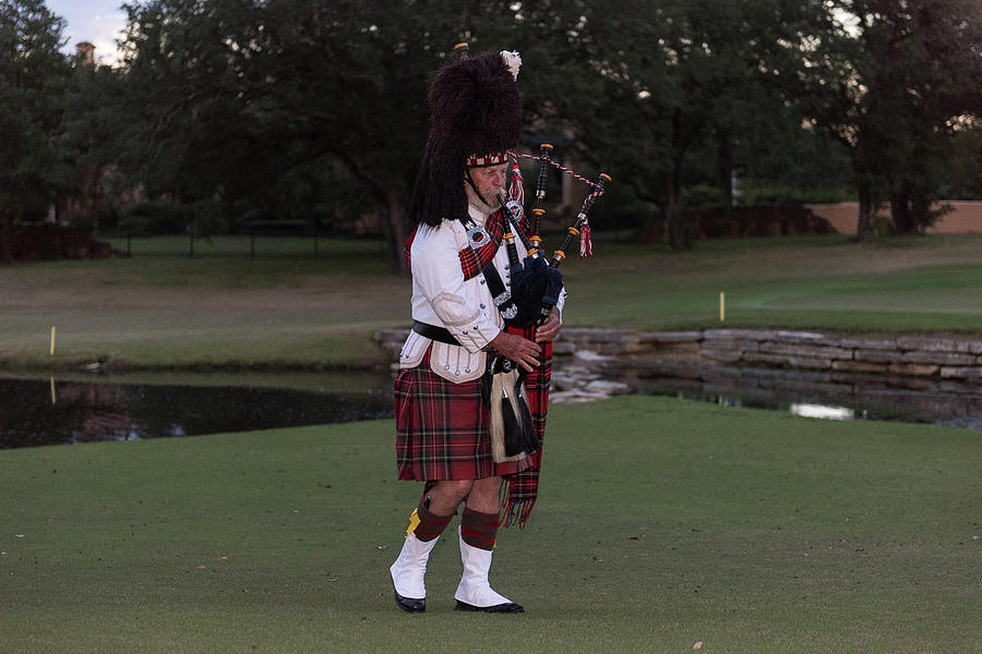 Bagpiper 2 by John Johnson