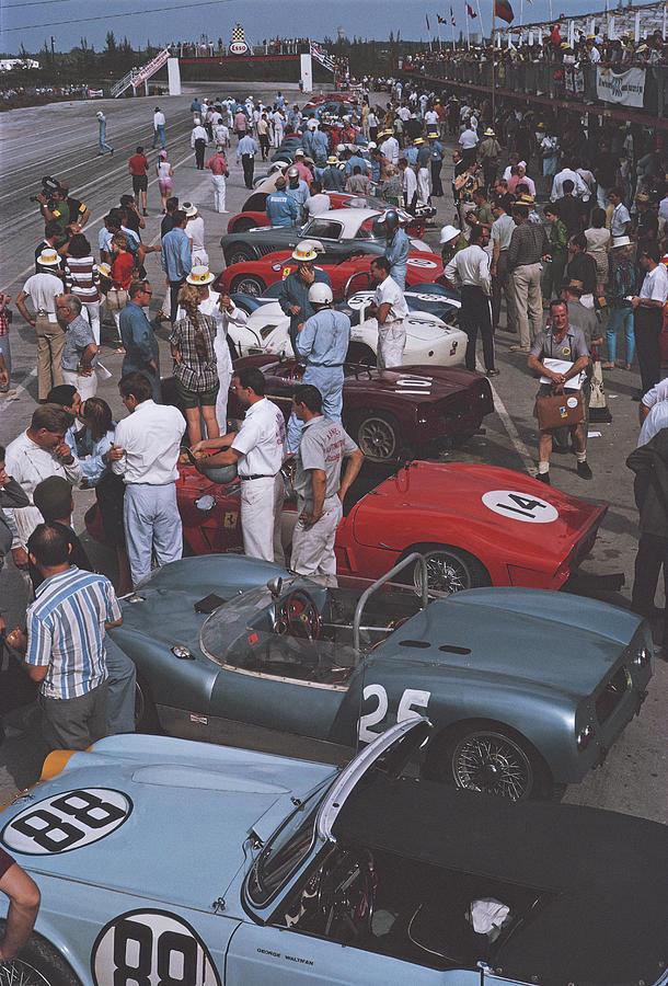 Bahamas Speed Week Photograph by Slim Aarons