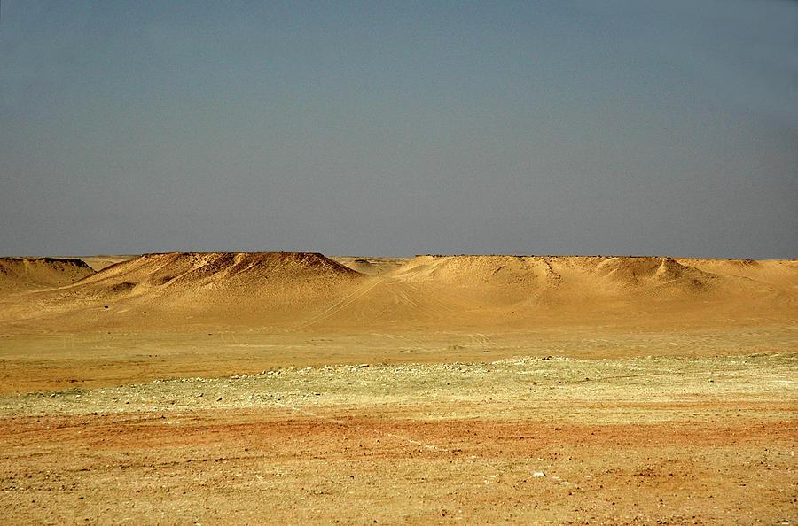 Baked Sahara Desert by Mark Duehmig