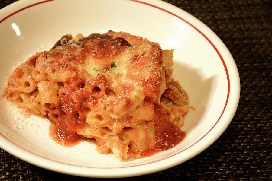 Baked Ziti Serving 3 by Angie Tirado