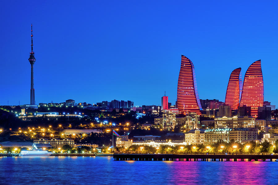 Baku Bay by Fabrizio Troiani