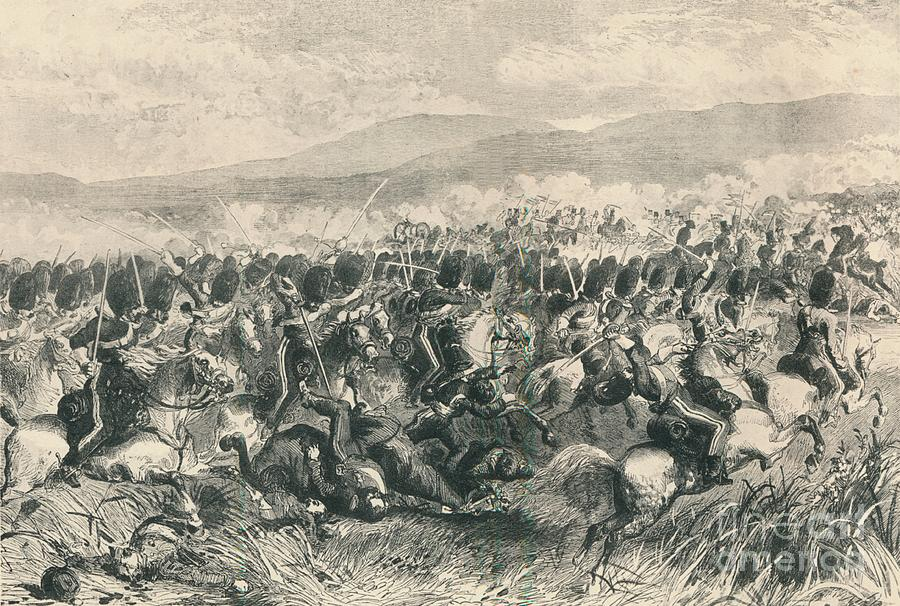 Balaclava, 25th October 1854 Drawing by Print Collector