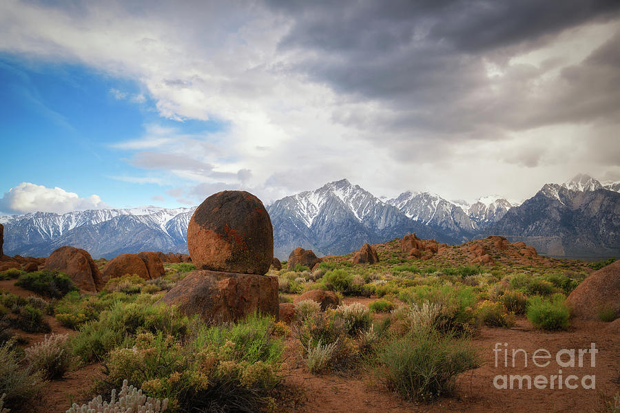 Balanced Rock at Alabama Hills by Michael Ver Sprill