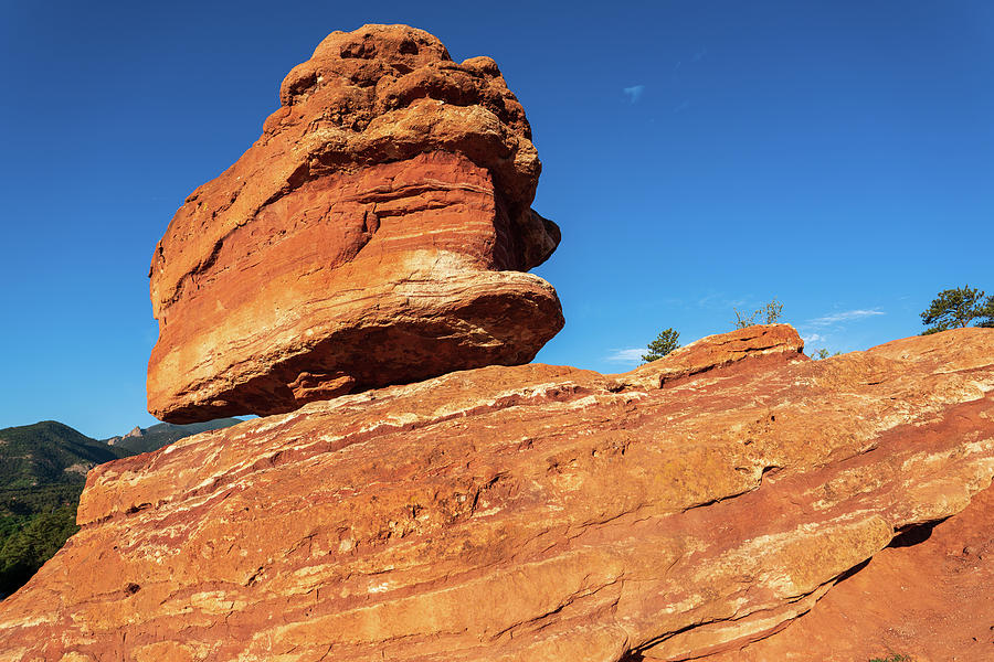 Balanced Rock Sandstone rock formation in Colorado by Kyle Lee