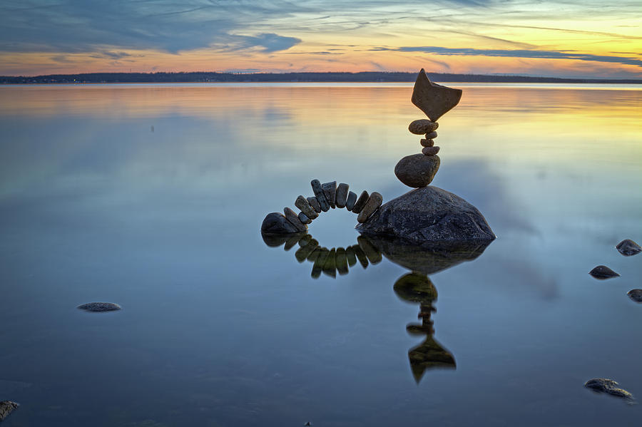 Balancing Art #10 Sculpture by Pontus Jansson