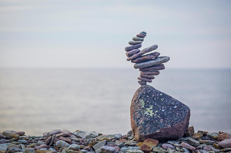 Balancing art #11 by Pontus Jansson