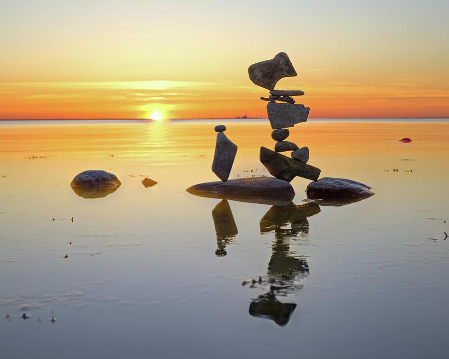 Balancing art #14 by Pontus Jansson