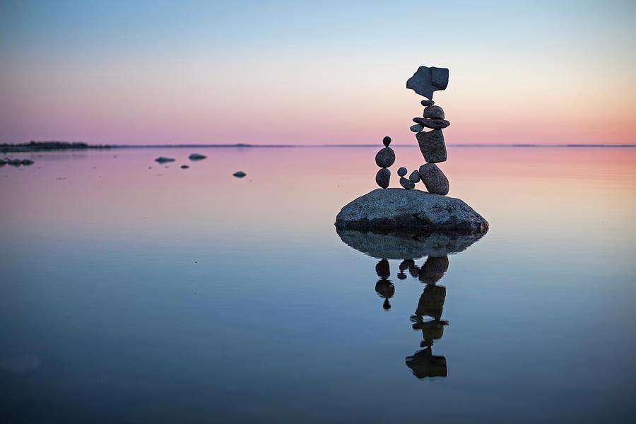 Balancing Art #65 Sculpture by Pontus Jansson