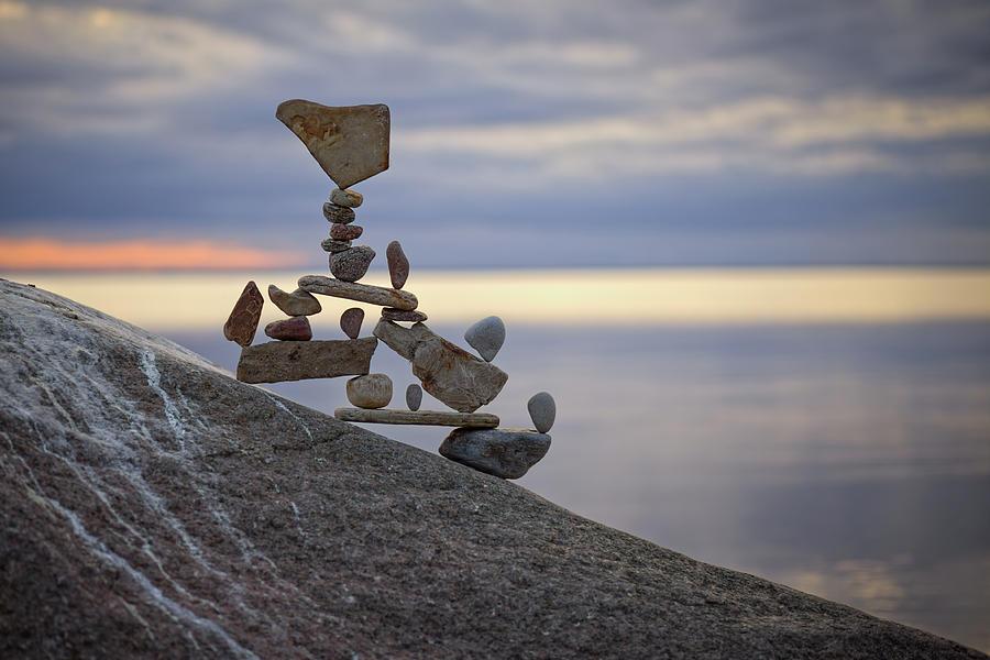 Balancing art #7 by Pontus Jansson