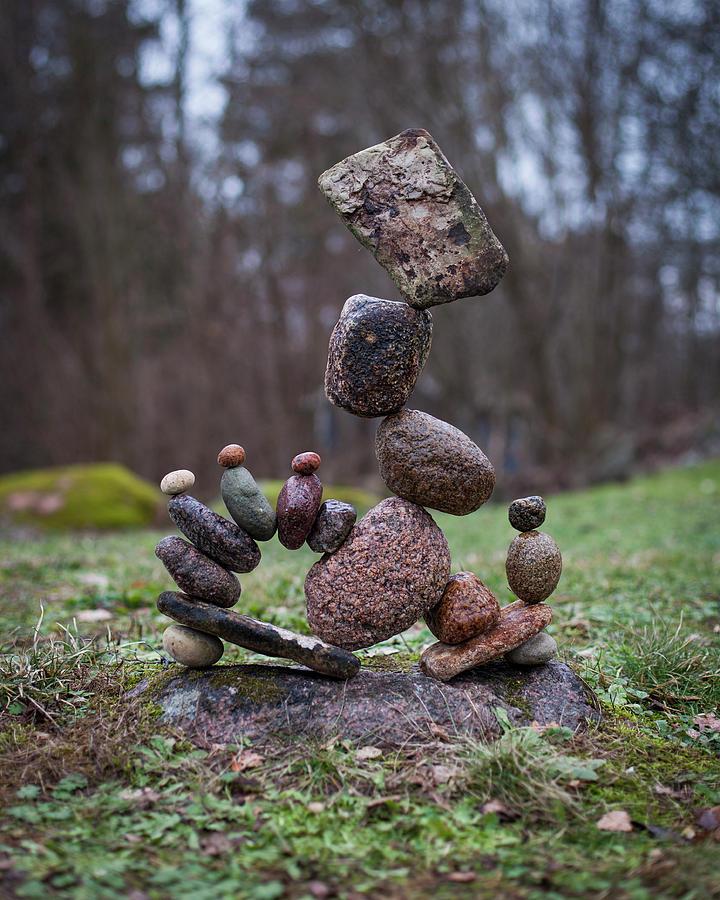 Balancing art #71 by Pontus Jansson