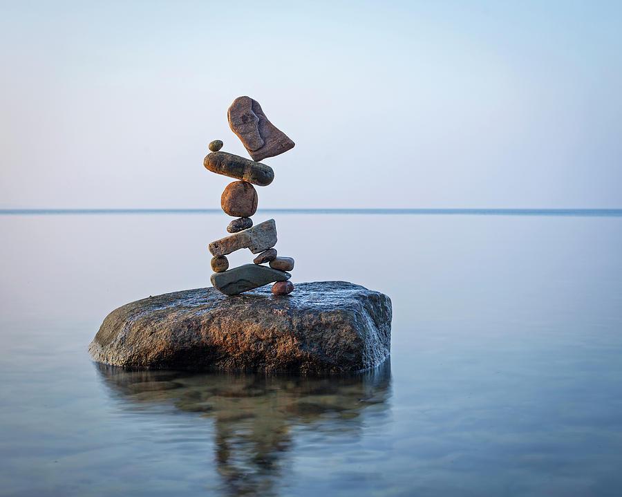 Balancing art #76 by Pontus Jansson