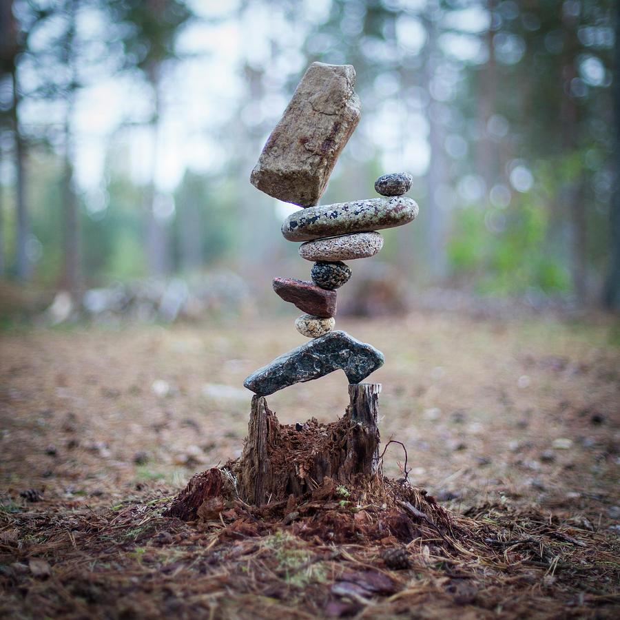 Balancing art #78 by Pontus Jansson