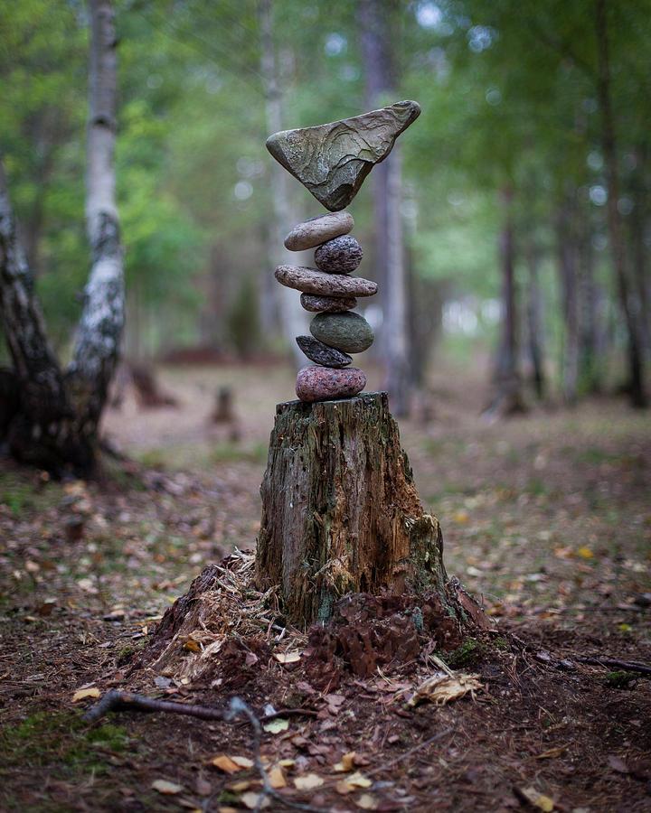 Balancing art #79 by Pontus Jansson