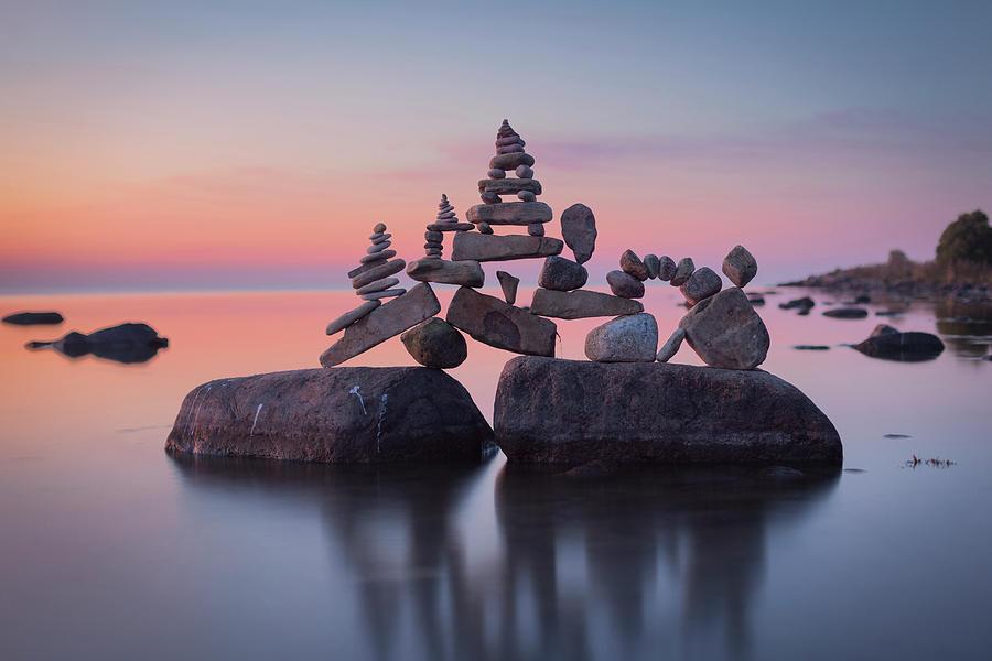 Balancing Art #86 Sculpture by Pontus Jansson