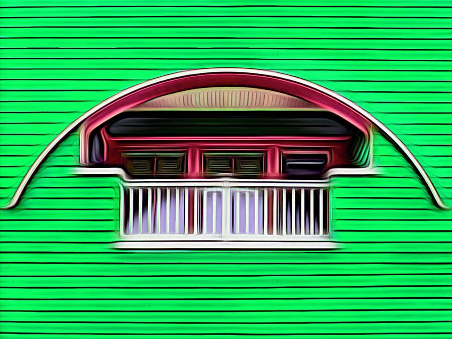 Balcon Empotrado by Paul Wear