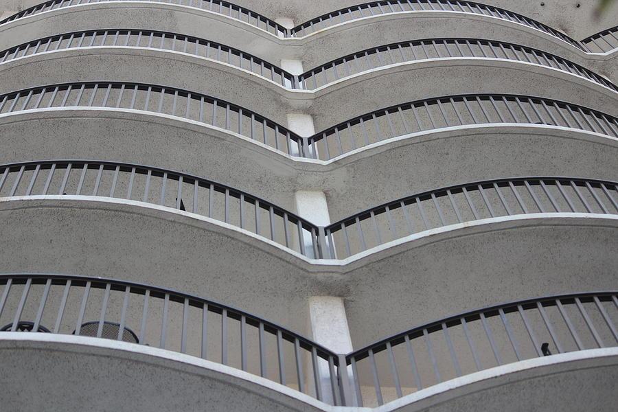 Balconies Photograph - Balconies by Callen Harty