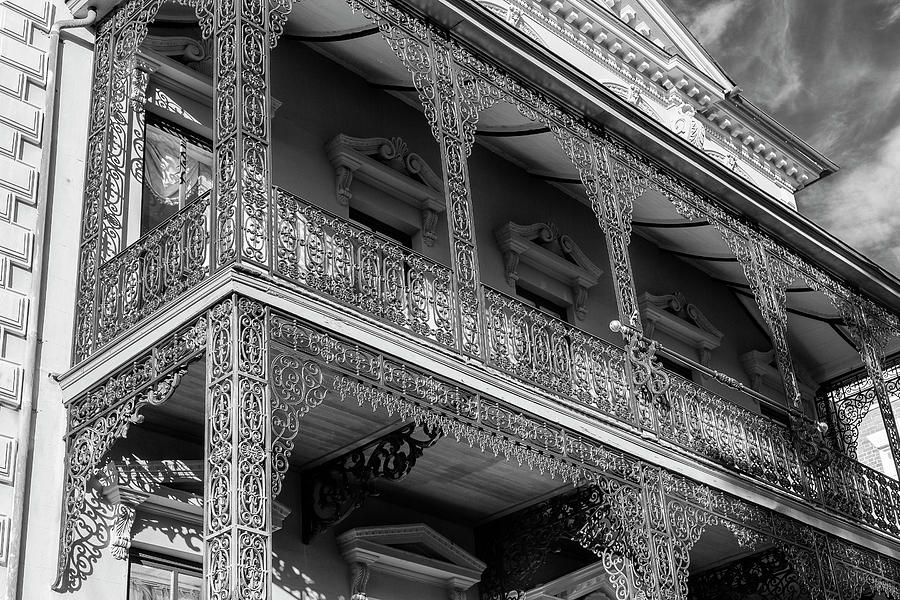 Balcony of Historic Rutledge House in Charleston by Keith Dotson