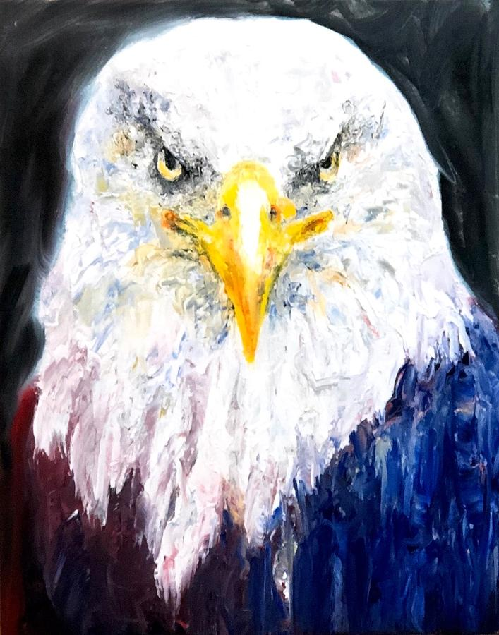 Bald Eagle by Jennifer Morrison Godshalk