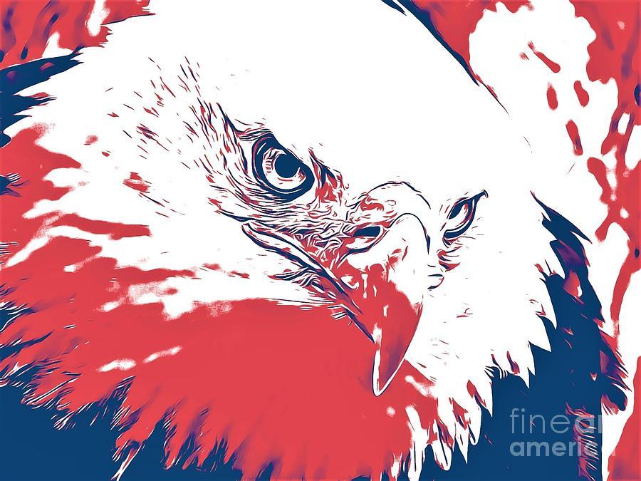 Bald Eagle by Jurgen Huibers