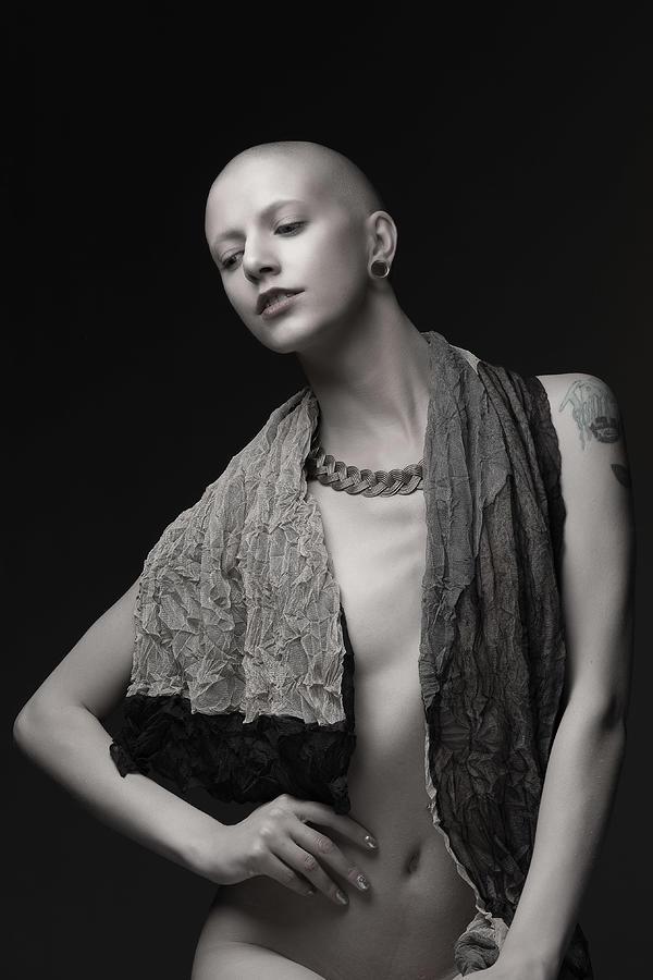Bald Photograph - Bald by Jan Slotboom