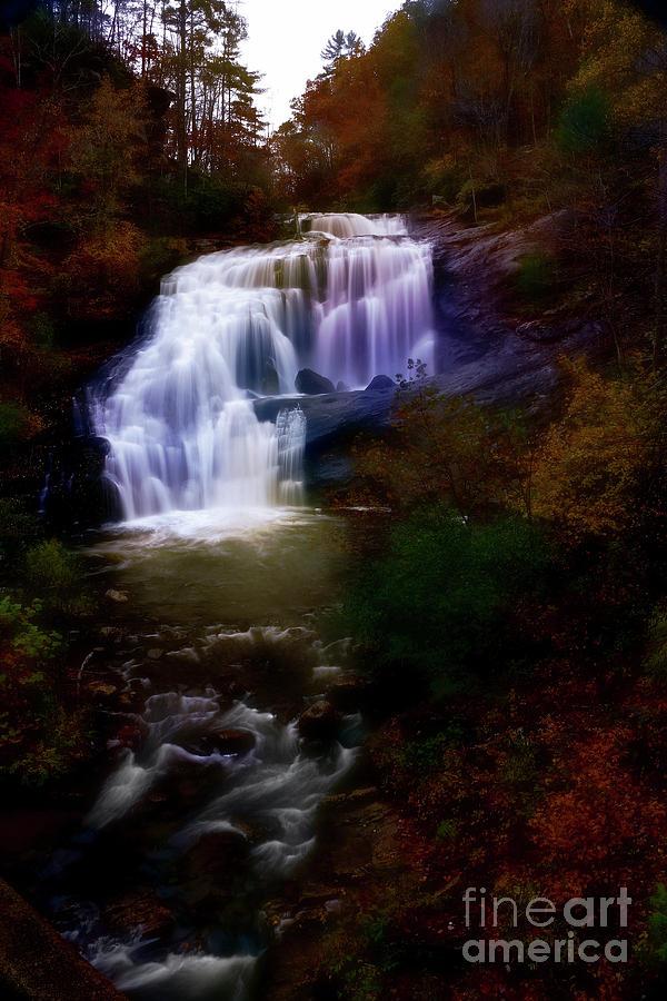 Bald River Falls 3 by Rick Lipscomb