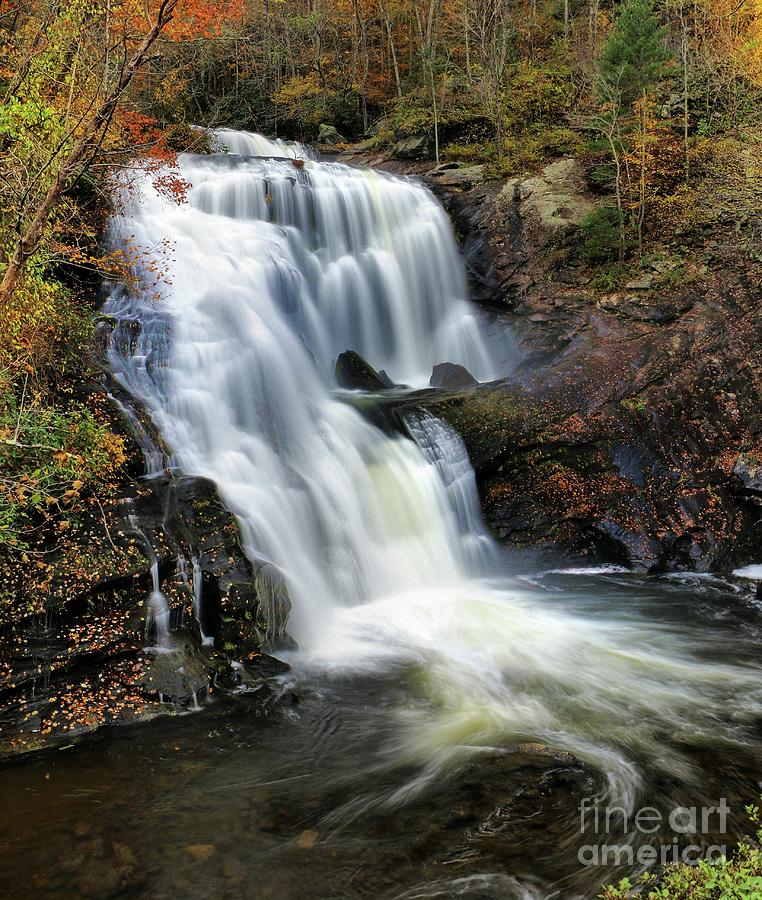 Bald River Falls Tennessee 5 by Rick Lipscomb