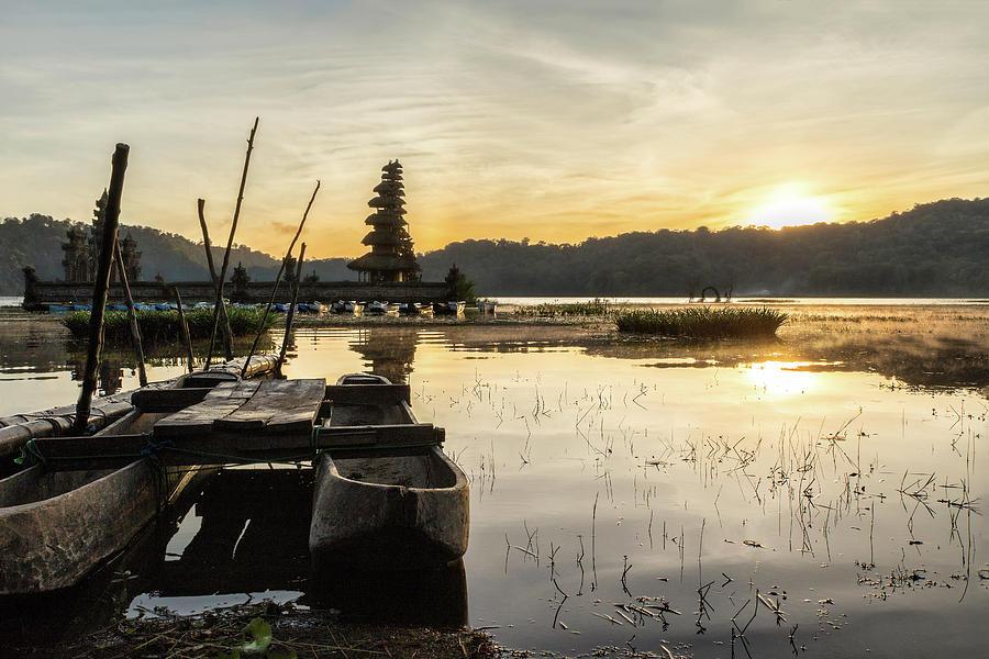 Balis Golden Mornings Photograph