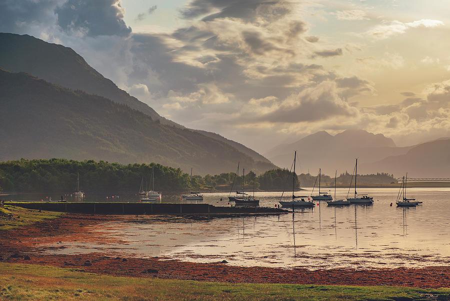 Ballaculish Sunset by Ray Devlin