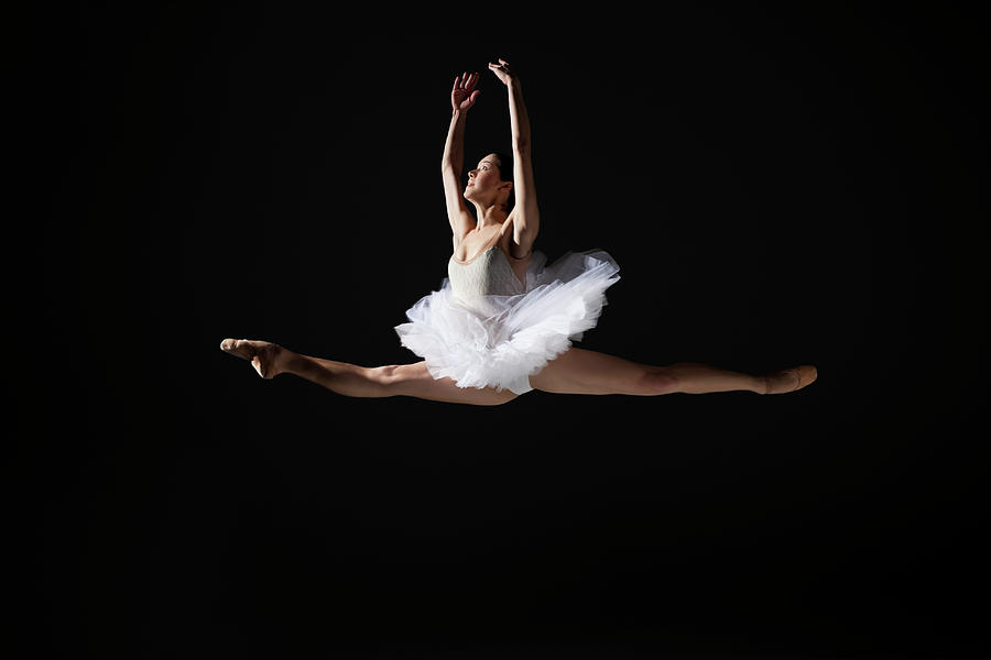 Ballerina Grand Jeté Photograph by Nisian Hughes