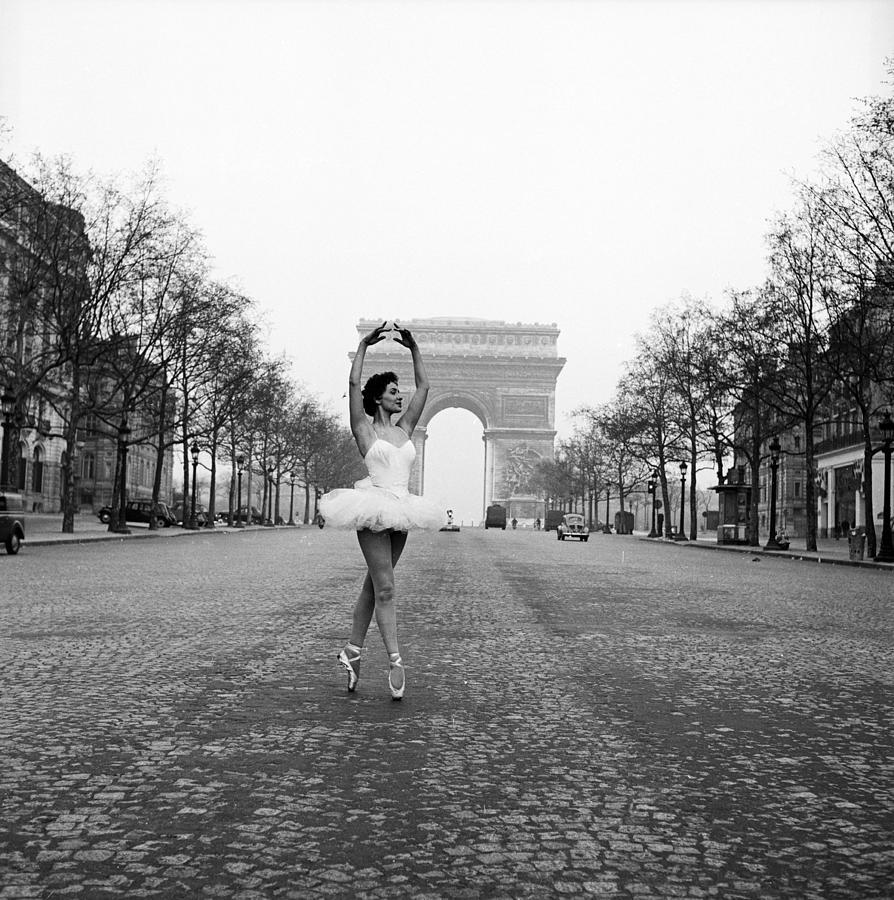 Ballerina In Paris Photograph by Serge Berton