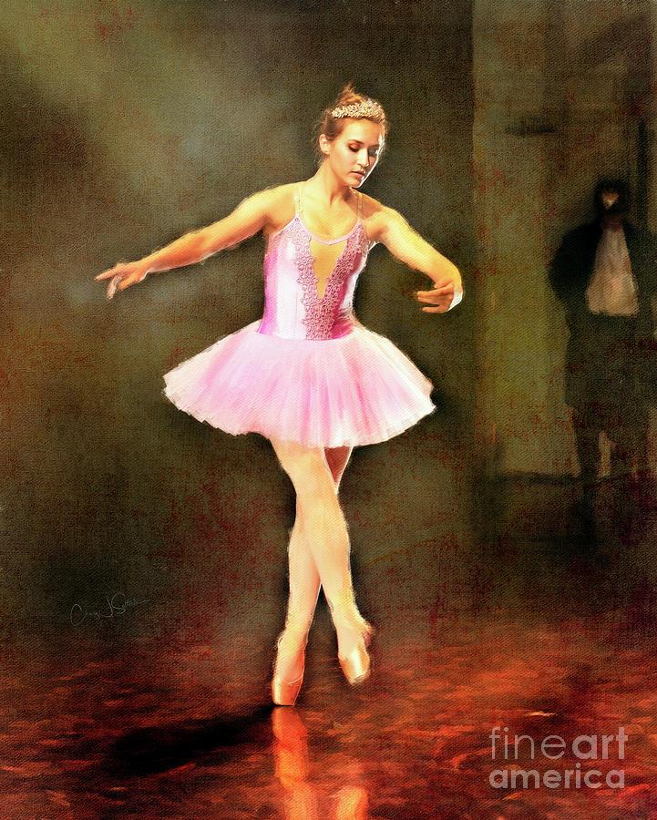 Ballerina in Pink by Craig J Satterlee