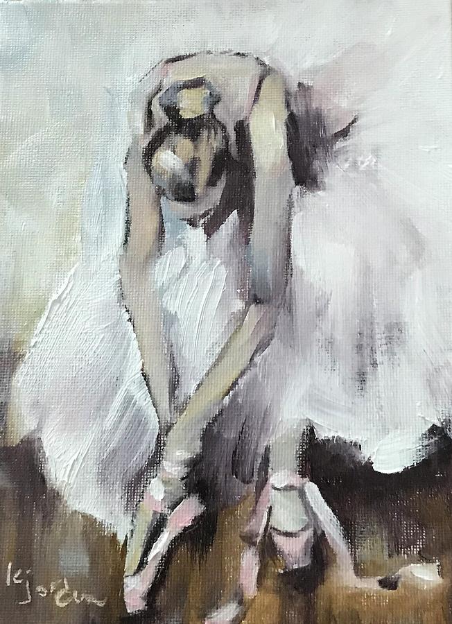 Ballerina Painting - Ballerina by Karen Jordan