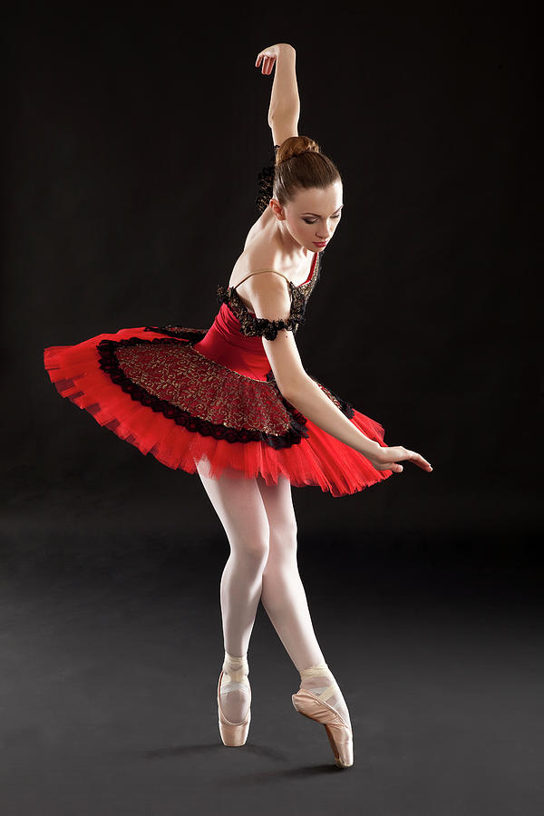 Ballerina On Point Photograph by Rollover