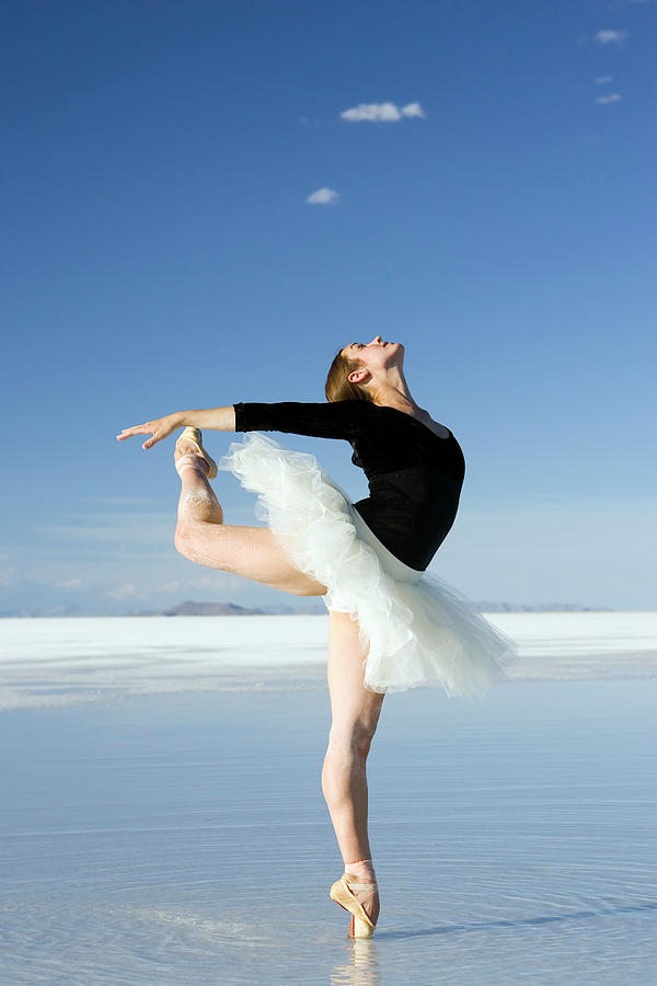 Ballerina Tip Toe Pose Photograph by Avid creative